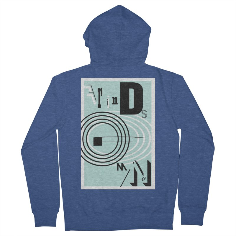 Friends of Mine Women's French Terry Zip-Up Hoody by The Artist Shop of Ben Stevens