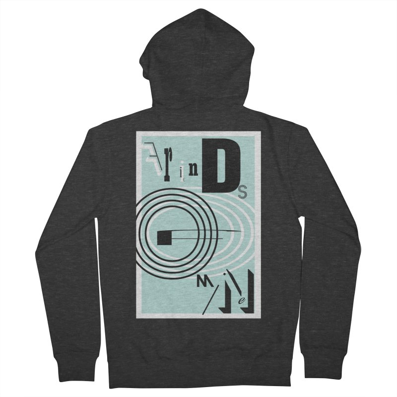 Friends of Mine Men's Zip-Up Hoody by The Artist Shop of Ben Stevens