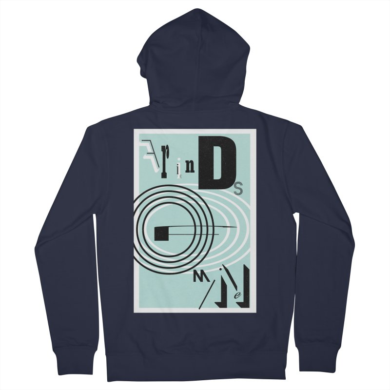 Friends of Mine Men's French Terry Zip-Up Hoody by The Artist Shop of Ben Stevens