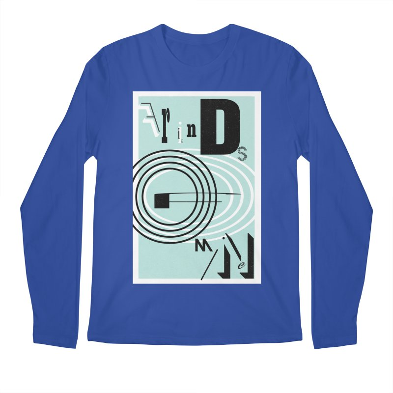 Friends of Mine Men's Regular Longsleeve T-Shirt by The Artist Shop of Ben Stevens