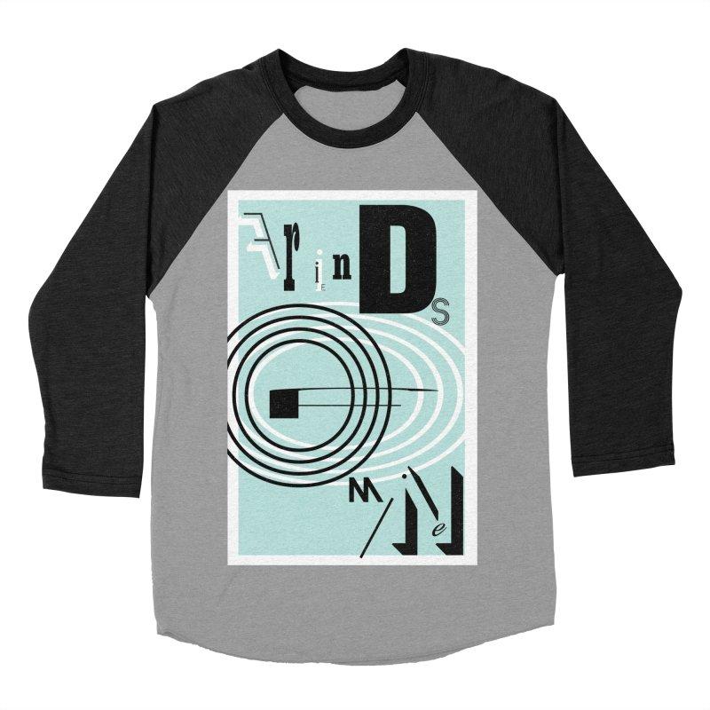Friends of Mine Women's Baseball Triblend Longsleeve T-Shirt by The Artist Shop of Ben Stevens