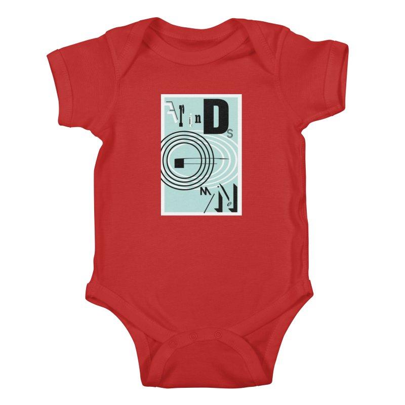 Friends of Mine Kids Baby Bodysuit by The Artist Shop of Ben Stevens