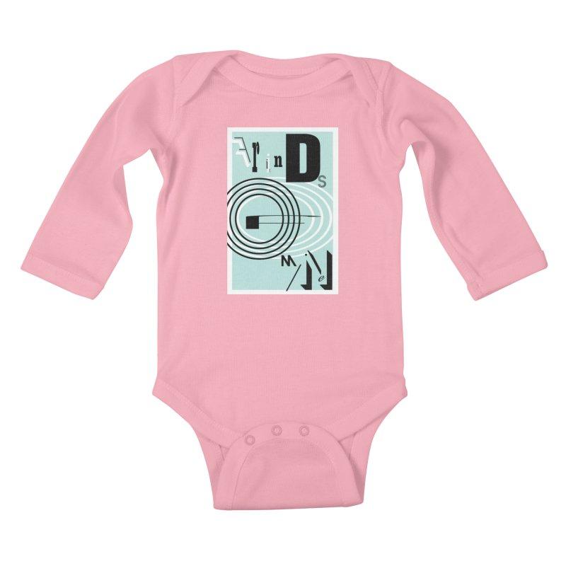 Friends of Mine Kids Baby Longsleeve Bodysuit by The Artist Shop of Ben Stevens