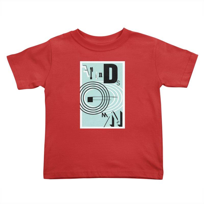 Friends of Mine Kids Toddler T-Shirt by The Artist Shop of Ben Stevens