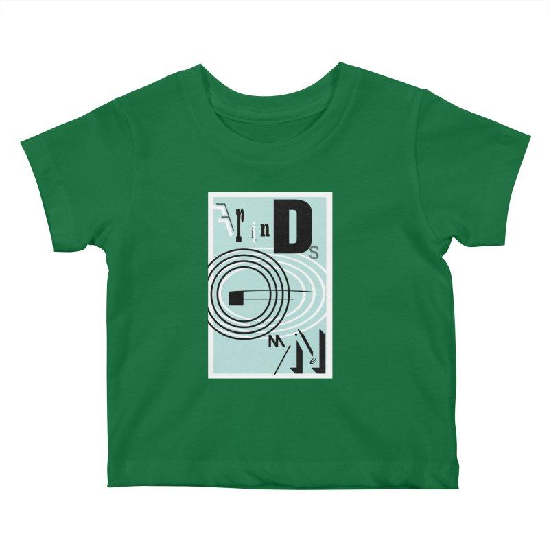 Friends of Mine Kids Baby T-Shirt by The Artist Shop of Ben Stevens