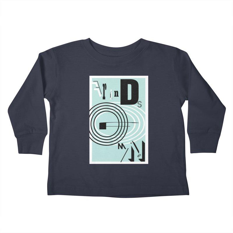 Friends of Mine Kids Toddler Longsleeve T-Shirt by The Artist Shop of Ben Stevens