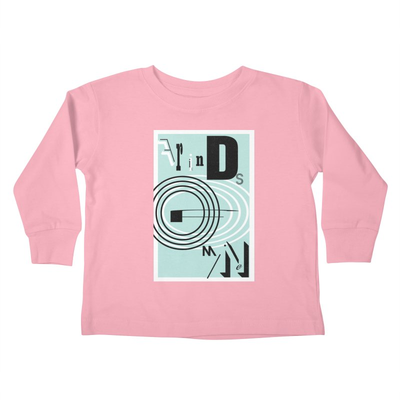 Friends of Mine Kids Toddler Longsleeve T-Shirt by The Artist Shop of Ben Stevens