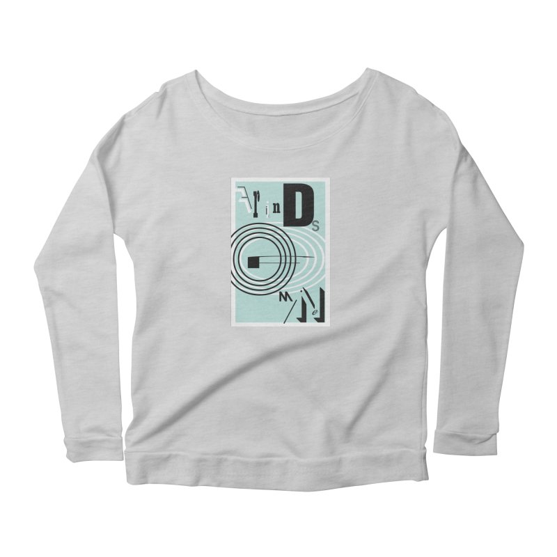 Friends of Mine Women's Scoop Neck Longsleeve T-Shirt by The Artist Shop of Ben Stevens
