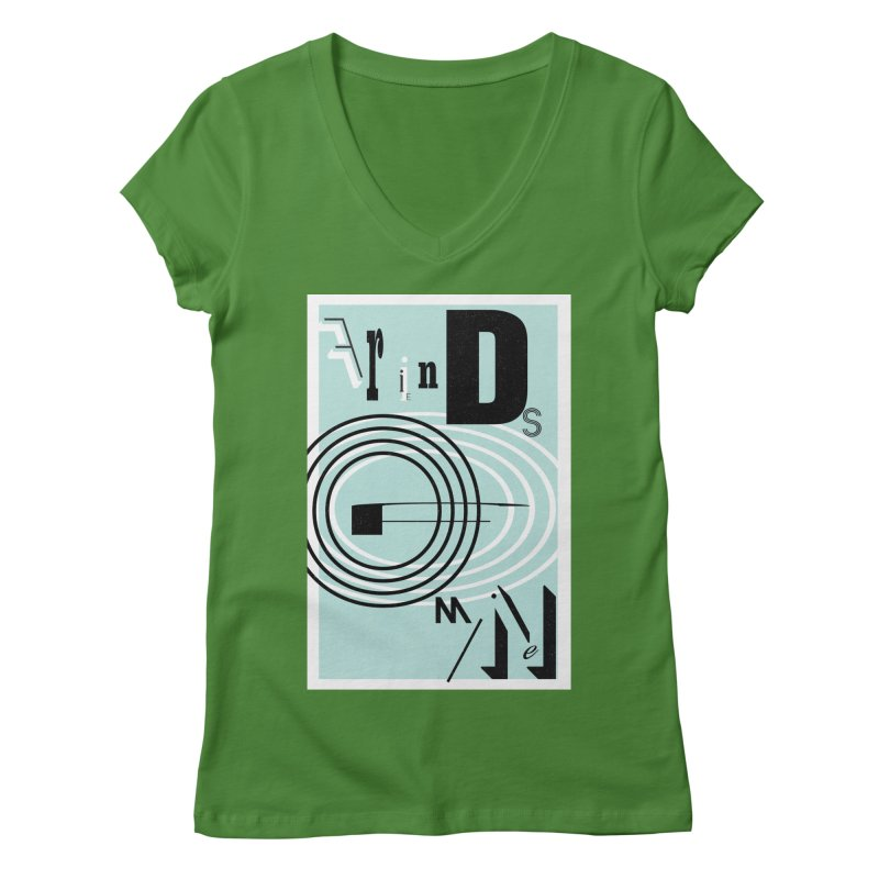 Friends of Mine Women's Regular V-Neck by The Artist Shop of Ben Stevens