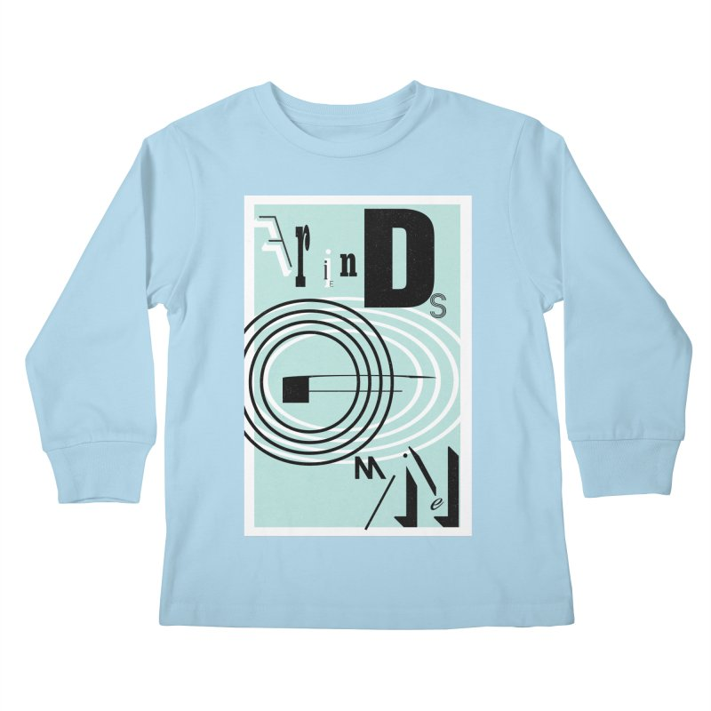 Friends of Mine Kids Longsleeve T-Shirt by The Artist Shop of Ben Stevens