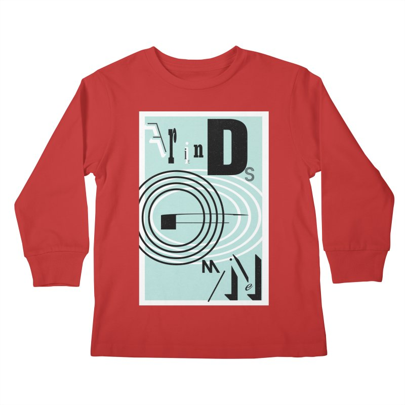 Friends of Mine Kids Longsleeve T-Shirt by The Artist Shop of Ben Stevens