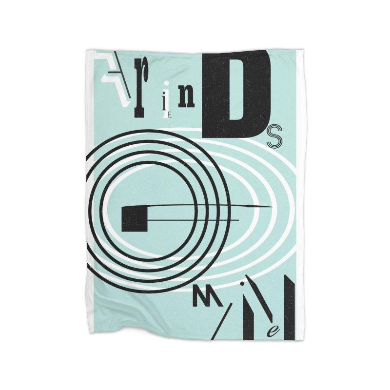 Friends of Mine Home Blanket by The Artist Shop of Ben Stevens