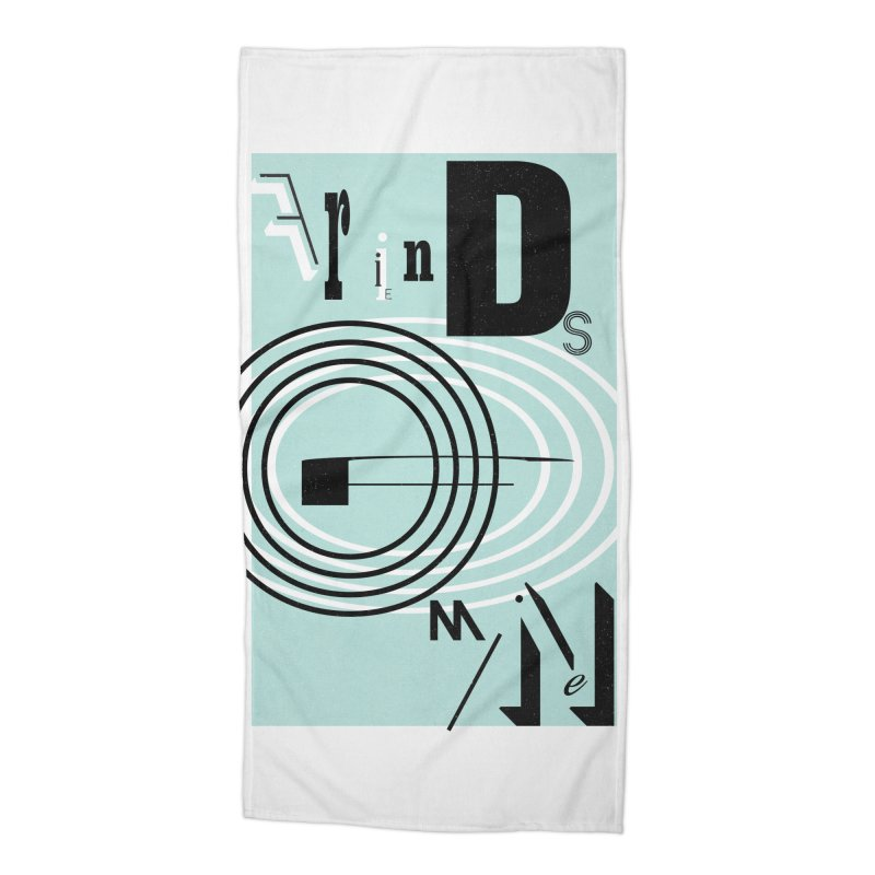 Friends of Mine Accessories Beach Towel by The Artist Shop of Ben Stevens