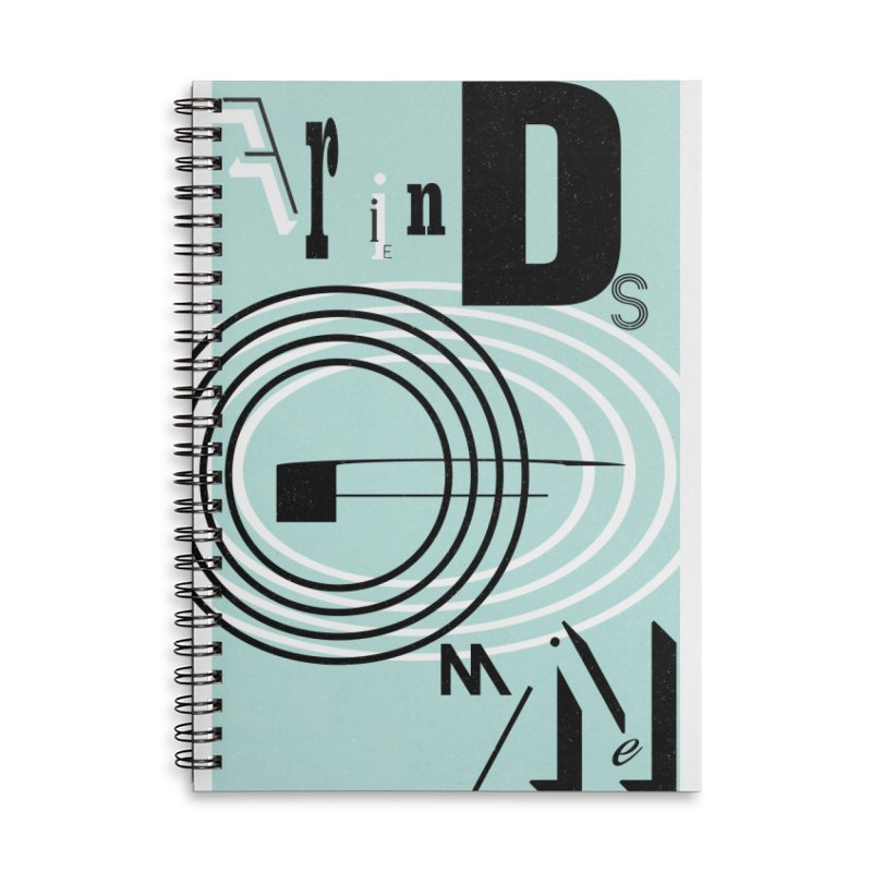 Friends of Mine Accessories Lined Spiral Notebook by The Artist Shop of Ben Stevens