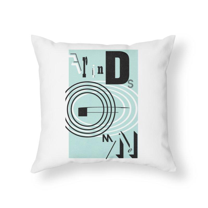 Friends of Mine Home Throw Pillow by The Artist Shop of Ben Stevens