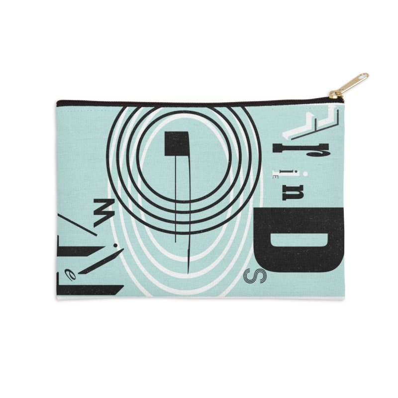 Friends of Mine Accessories Zip Pouch by The Artist Shop of Ben Stevens