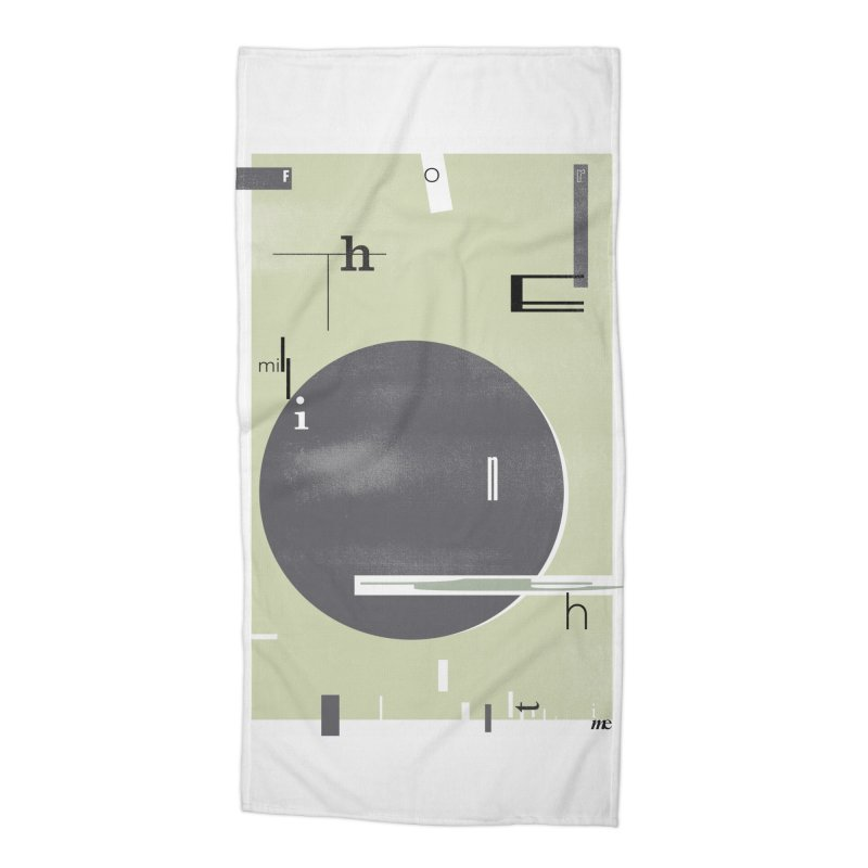 For the Millionth Time... Accessories Beach Towel by The Artist Shop of Ben Stevens