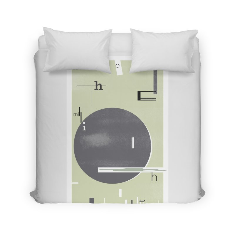 For the Millionth Time... Home Duvet by The Artist Shop of Ben Stevens