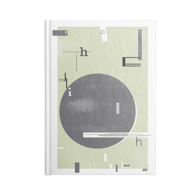 For the Millionth Time... Accessories Lined Journal Notebook by The Artist Shop of Ben Stevens