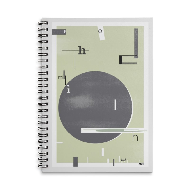 For the Millionth Time... Accessories Lined Spiral Notebook by The Artist Shop of Ben Stevens