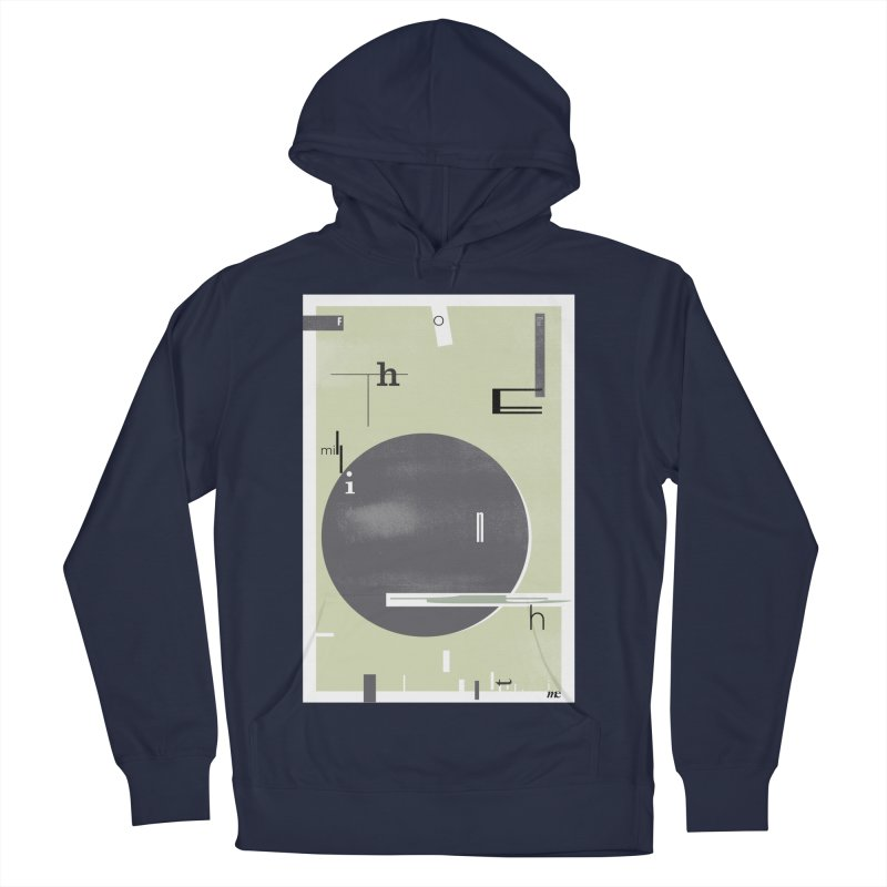 For the Millionth Time... Men's French Terry Pullover Hoody by The Artist Shop of Ben Stevens