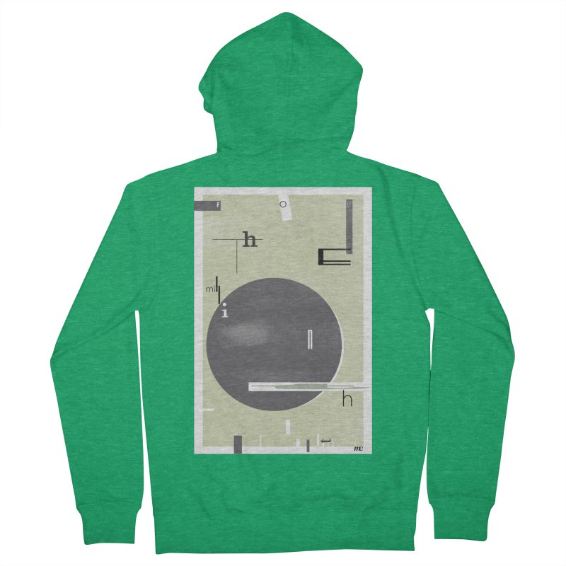 For the Millionth Time... Men's Zip-Up Hoody by The Artist Shop of Ben Stevens