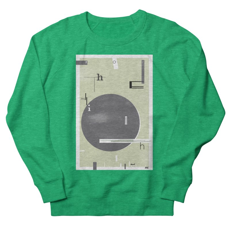 For the Millionth Time... Men's French Terry Sweatshirt by The Artist Shop of Ben Stevens