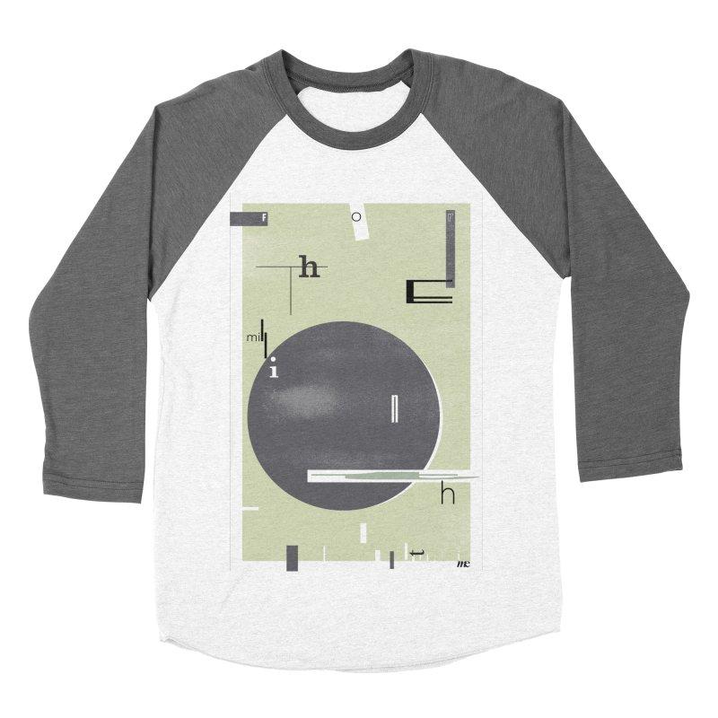 For the Millionth Time... Men's Baseball Triblend T-Shirt by The Artist Shop of Ben Stevens