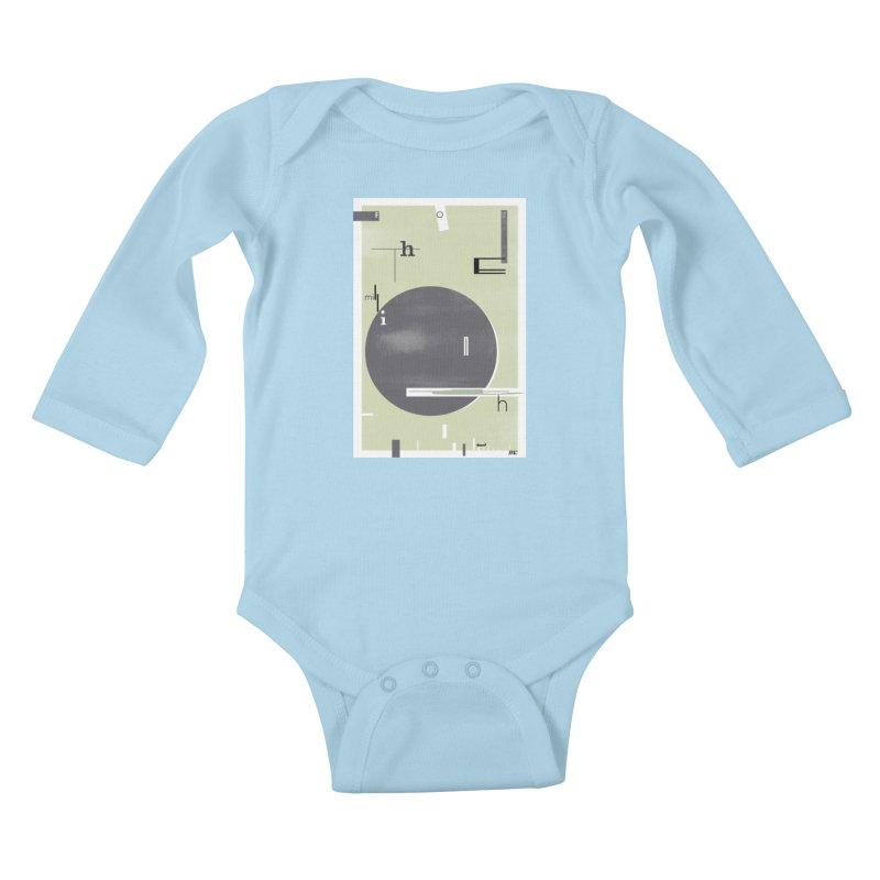 For the Millionth Time... Kids Baby Longsleeve Bodysuit by The Artist Shop of Ben Stevens