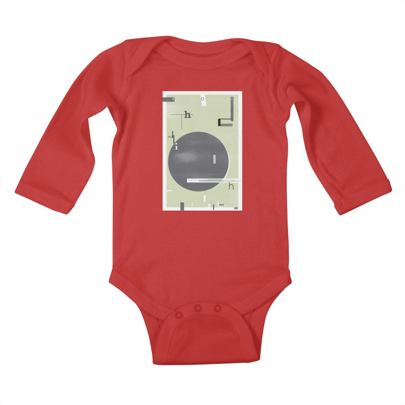 For the Millionth Time... Kids Baby Longsleeve Bodysuit by The Artist Shop of Ben Stevens