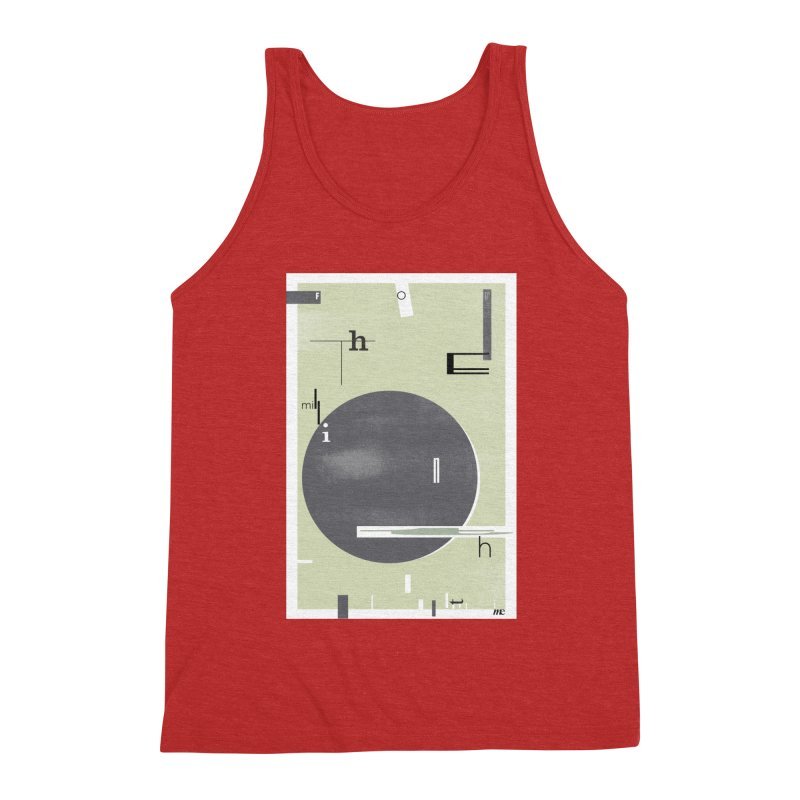 For the Millionth Time... Men's Triblend Tank by The Artist Shop of Ben Stevens