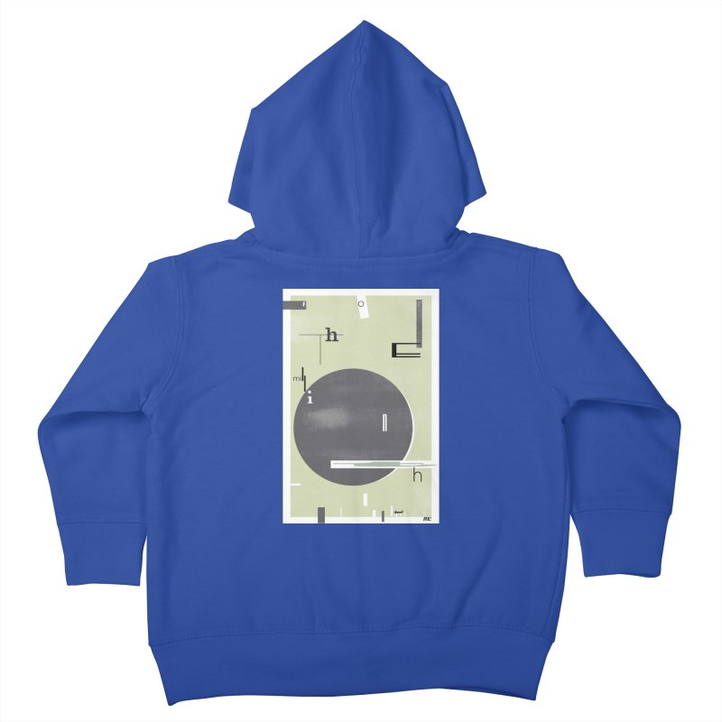 For the Millionth Time... Kids Toddler Zip-Up Hoody by The Artist Shop of Ben Stevens