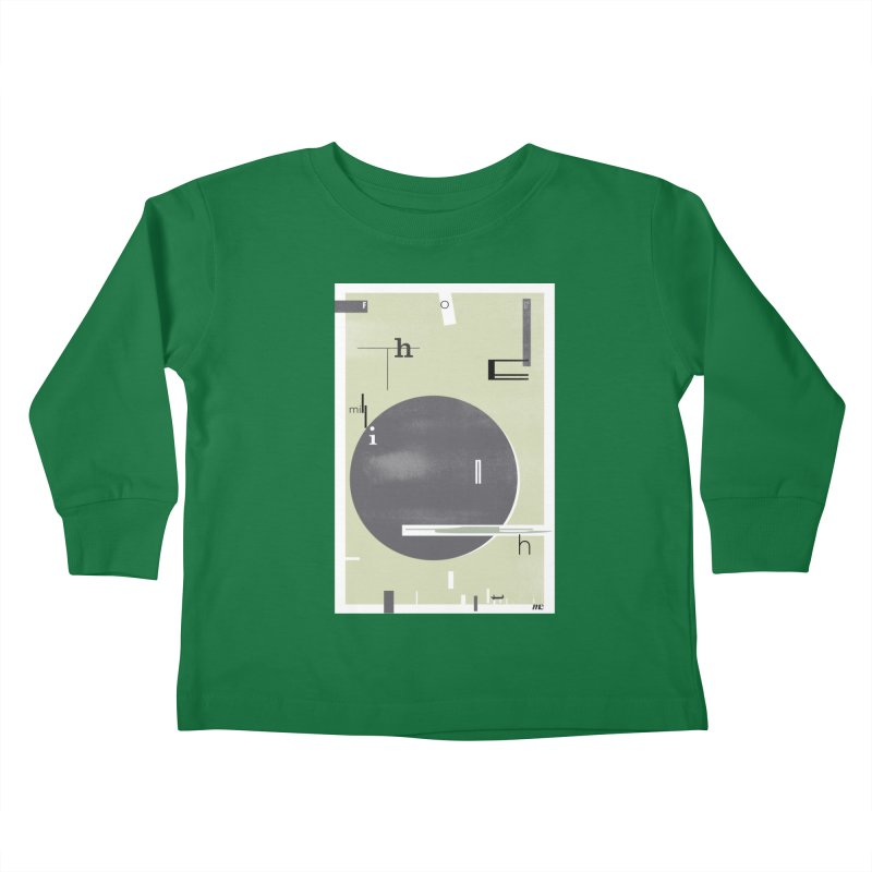 For the Millionth Time... Kids Toddler Longsleeve T-Shirt by The Artist Shop of Ben Stevens