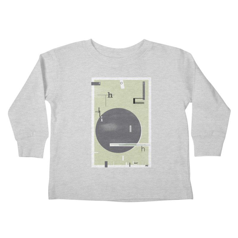 For the Millionth Time... Kids Toddler Longsleeve T-Shirt by The Artist Shop of Ben Stevens