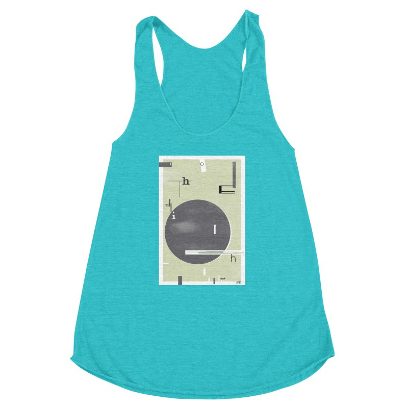 For the Millionth Time... Women's Racerback Triblend Tank by The Artist Shop of Ben Stevens