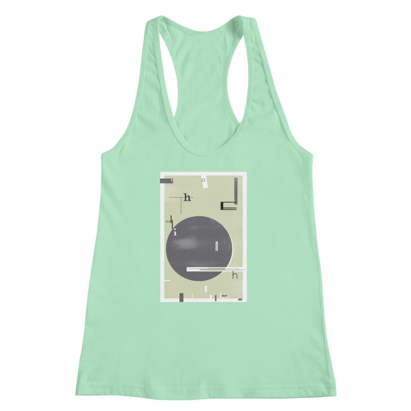 For the Millionth Time... Women's Racerback Tank by The Artist Shop of Ben Stevens
