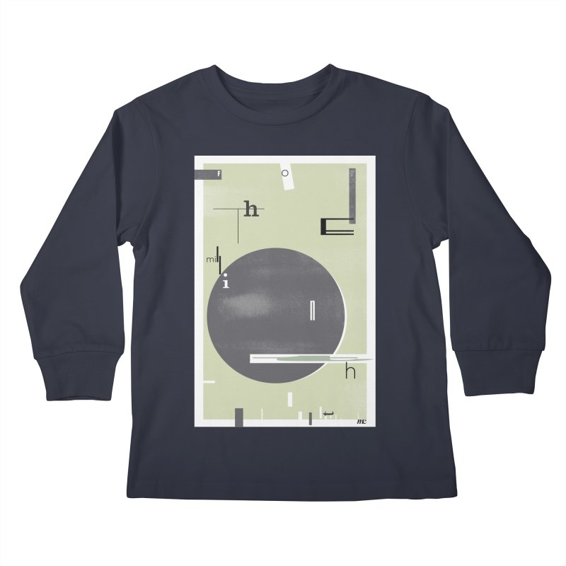 For the Millionth Time... Kids Longsleeve T-Shirt by The Artist Shop of Ben Stevens