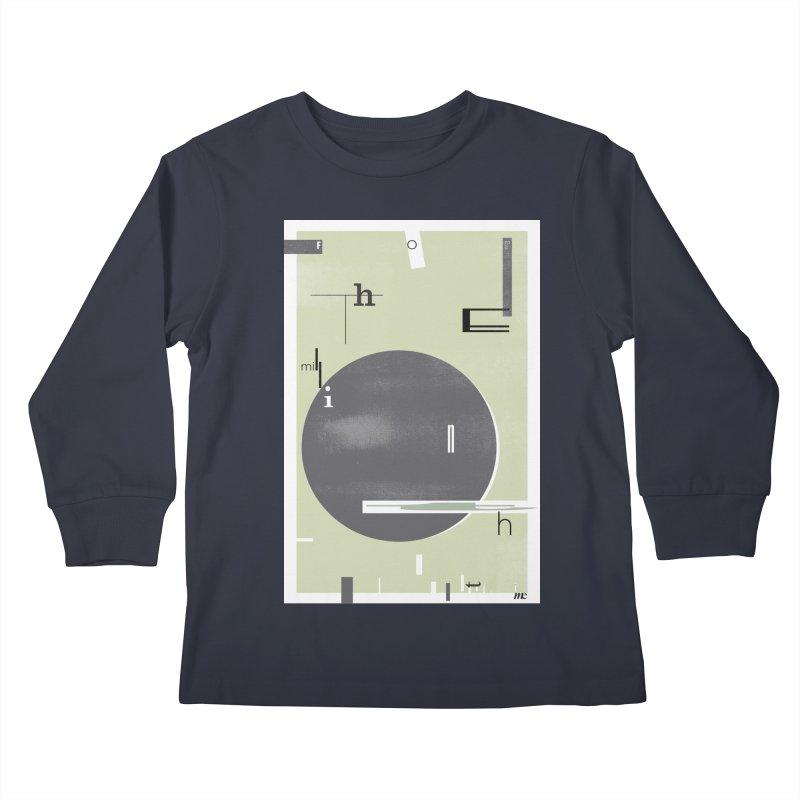 For the Millionth Time... Kids Longsleeve T-Shirt by The Artist Shop of Ben Stevens