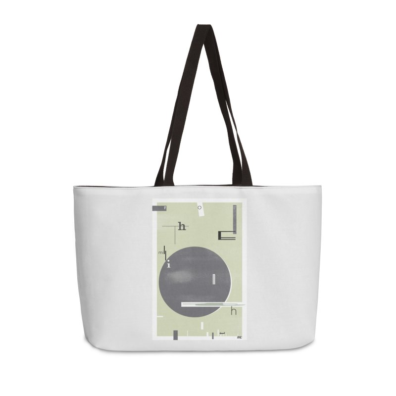 For the Millionth Time... Accessories Weekender Bag Bag by The Artist Shop of Ben Stevens