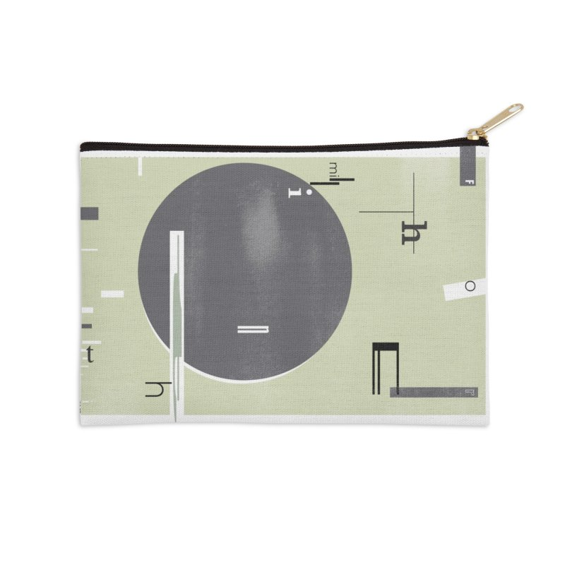 For the Millionth Time... Accessories Zip Pouch by The Artist Shop of Ben Stevens