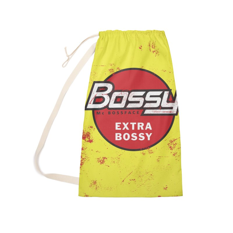 Bossy McBossface - Extra Bossy Accessories Bag by The Artist Shop of Ben Stevens