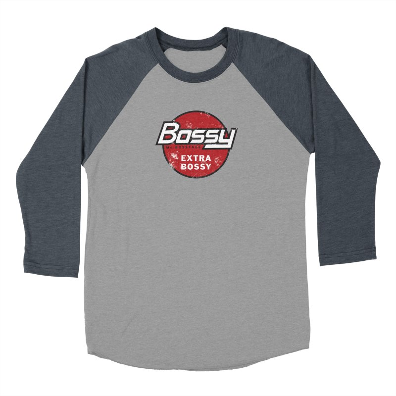 Bossy McBossface - Extra Bossy Women's Longsleeve T-Shirt by The Artist Shop of Ben Stevens