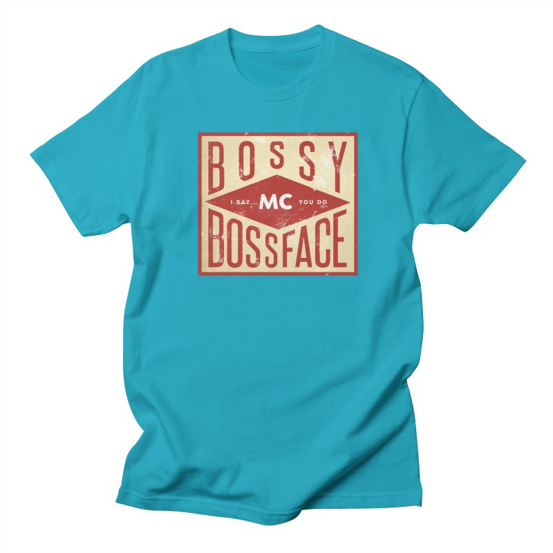 Bossy McBossface - Industrial Boss Women's Regular Unisex T-Shirt by The Artist Shop of Ben Stevens