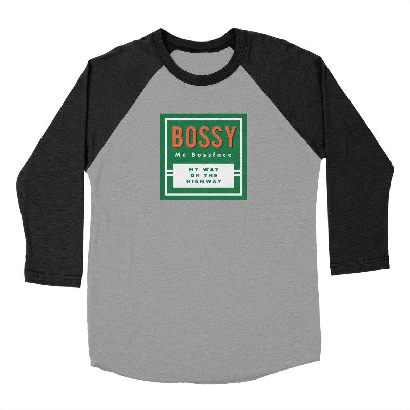 Bossy McBossface - Rural Boss Women's Longsleeve T-Shirt by The Artist Shop of Ben Stevens