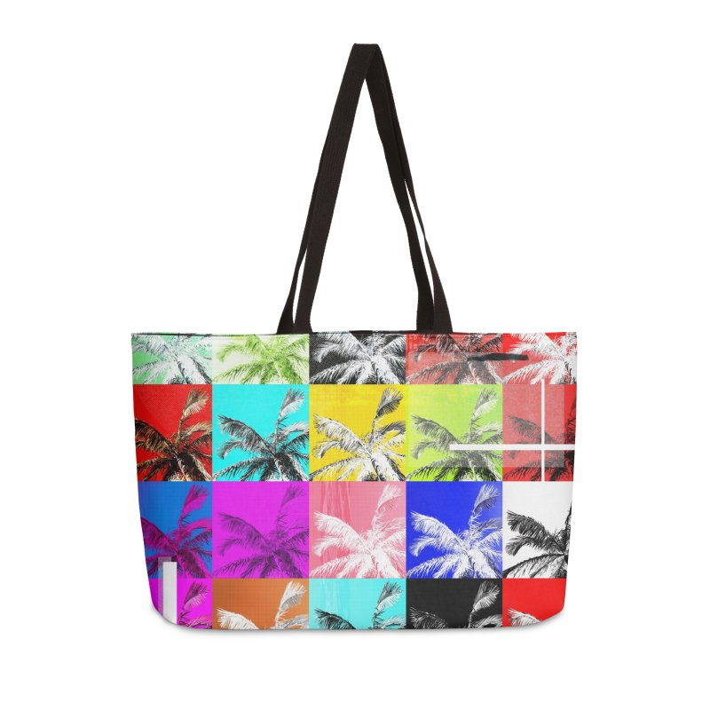 All the Palms Accessories Weekender Bag Bag by The Artist Shop of Ben Stevens