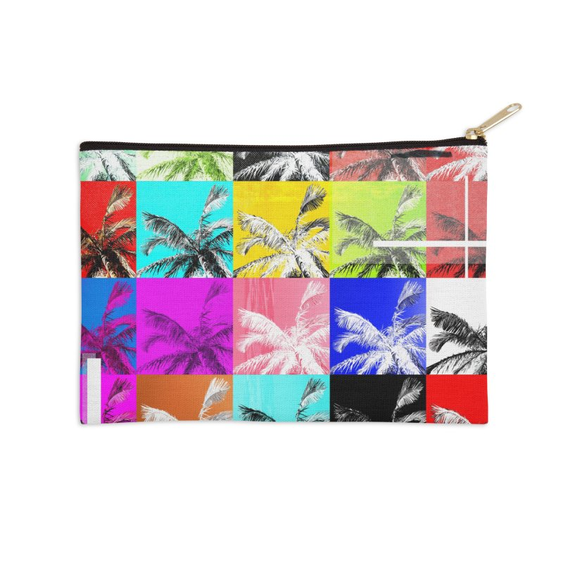 All the Palms Accessories Zip Pouch by The Artist Shop of Ben Stevens