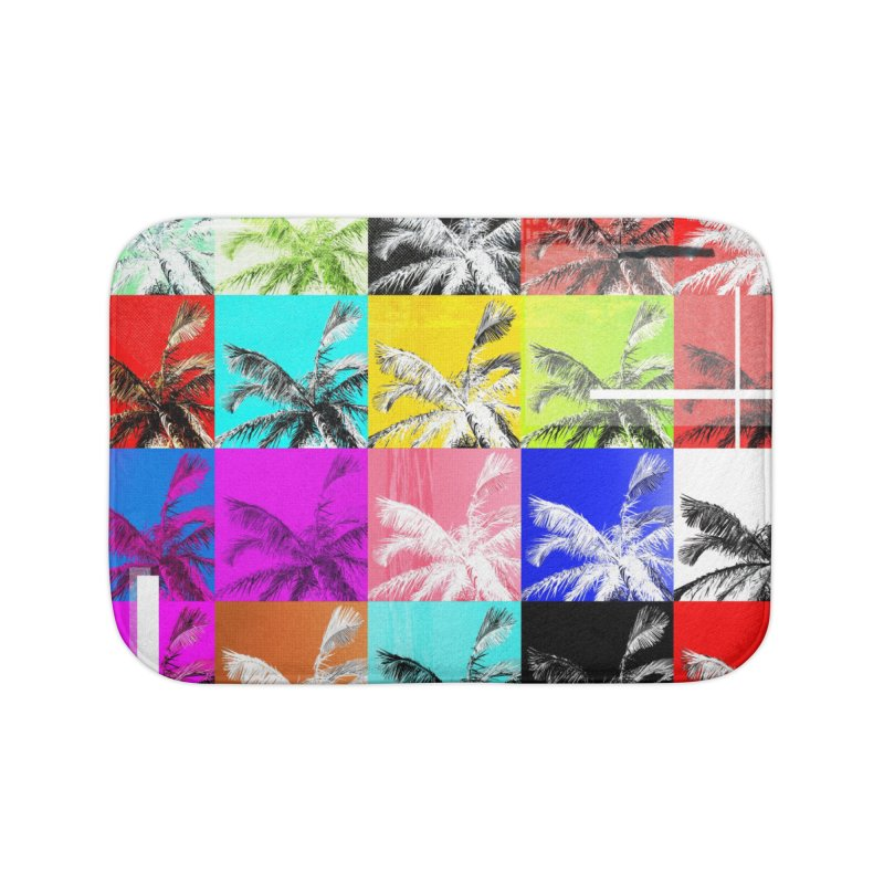 All the Palms Home Bath Mat by The Artist Shop of Ben Stevens