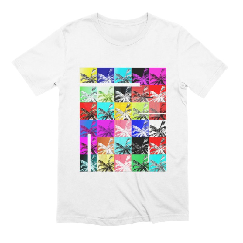 All the Palms Men's Extra Soft T-Shirt by The Artist Shop of Ben Stevens