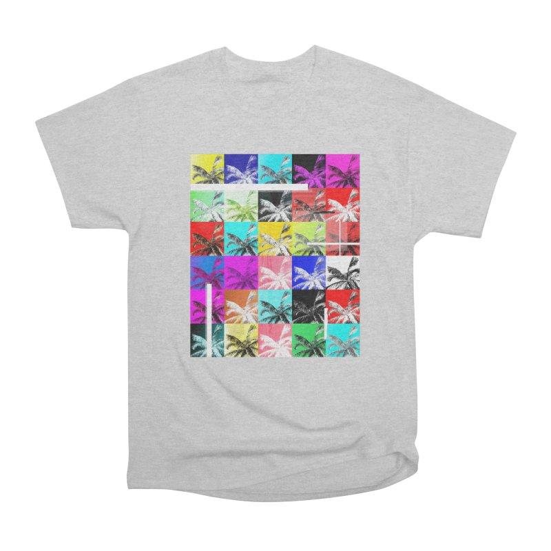 All the Palms Men's Heavyweight T-Shirt by The Artist Shop of Ben Stevens