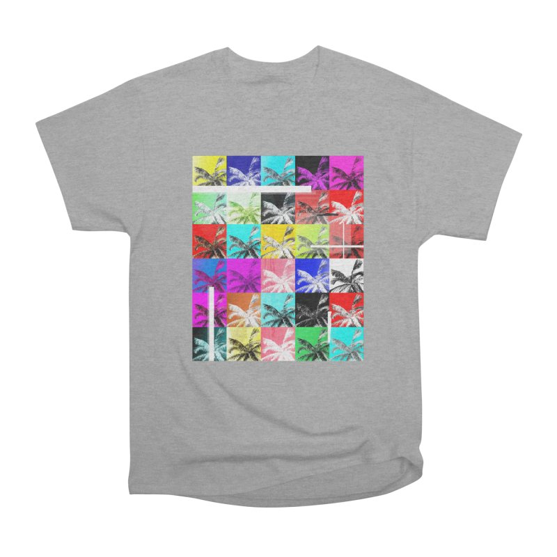 All the Palms Women's Heavyweight Unisex T-Shirt by The Artist Shop of Ben Stevens
